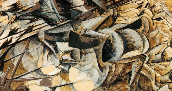 Umberto_Boccioni_-_Charge_of_the_Lancers